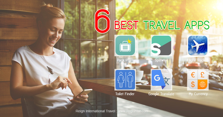 6 Best Travel Apps 1